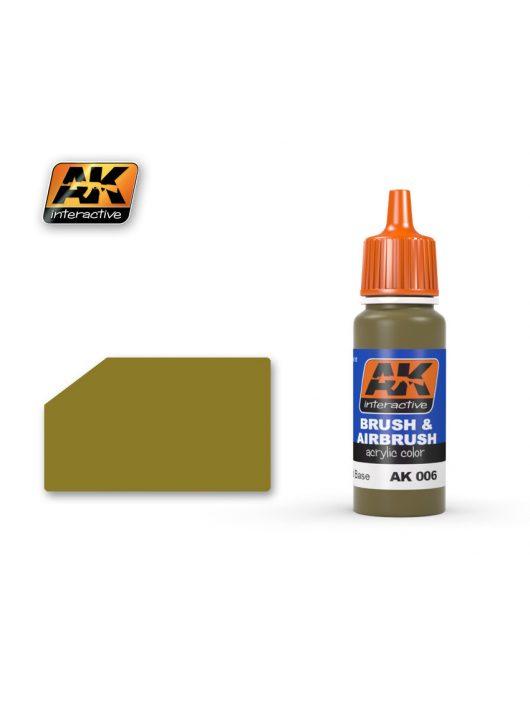 AK Interactive - Dunkelgelb Base 17 ml
