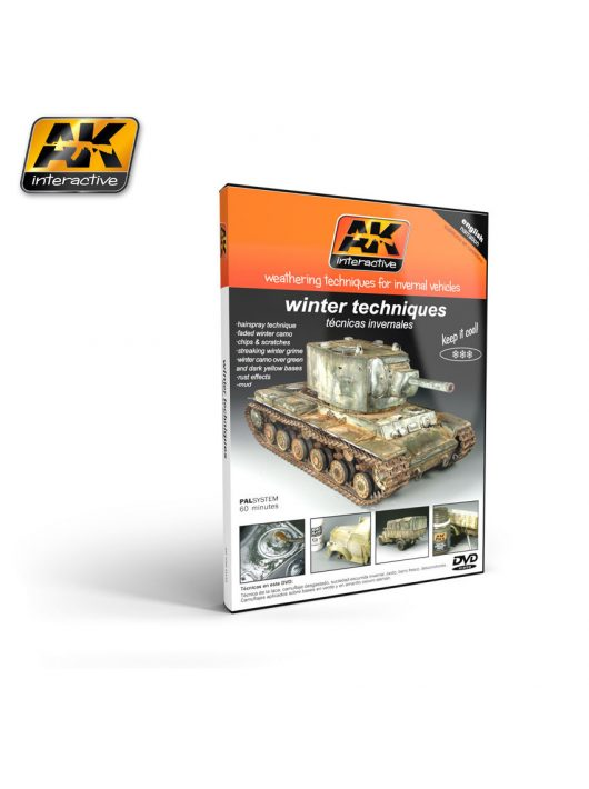 AK Interactive - AK Interactive - Weathering Techniques For Invernal Vehicles