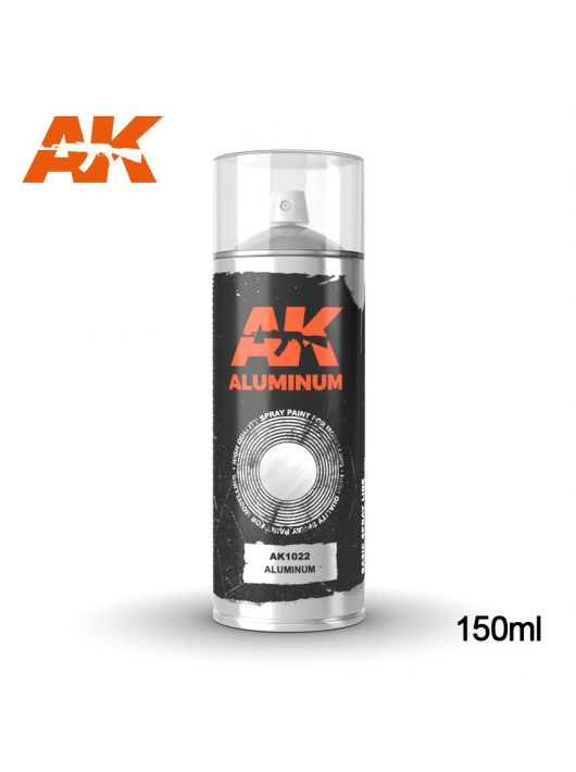 AK Interactive - Aluminum - Spray 150Ml