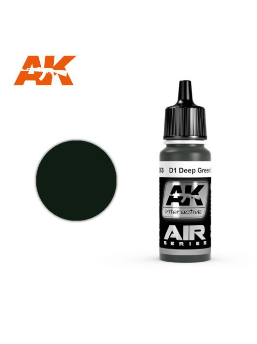 AK Interactive - D1 Deep Green Black