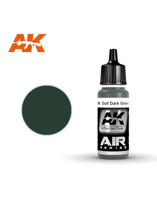 AK Interactive - Dull Dark Green (Fs 34092) 17 ml