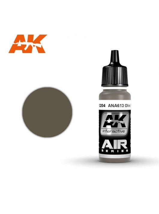 AK Interactive - Ana613 Olive Drab 17 ml