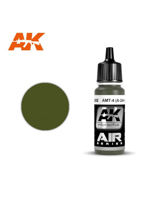 AK Interactive - Amt-4 (A-24M) Green