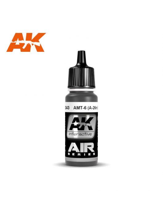 AK Interactive - Amt-7 (A-26M) Black