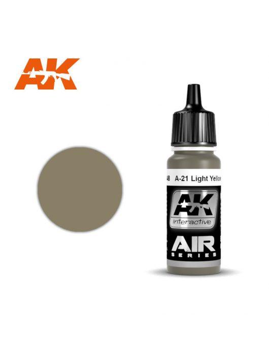 AK Interactive - A-21M Light Yellowish Brown