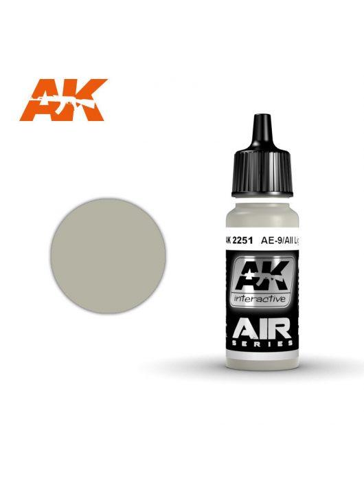 AK Interactive - Ae-9/Aii Light Grey 17 ml