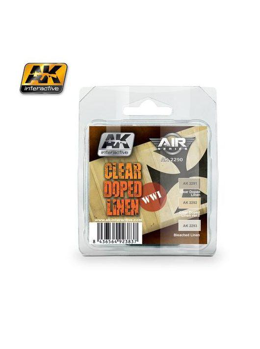 AK Interactive - Clear Doped Linen