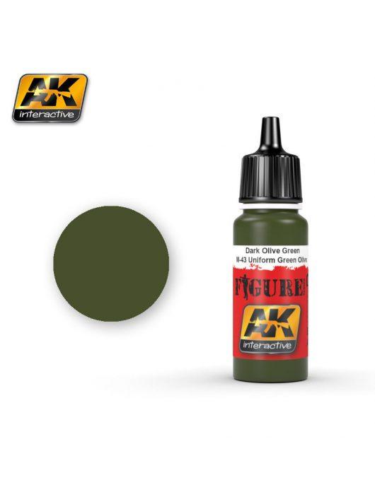 AK Interactive - Dark Olive Green / M-43 Uniform Green Olive