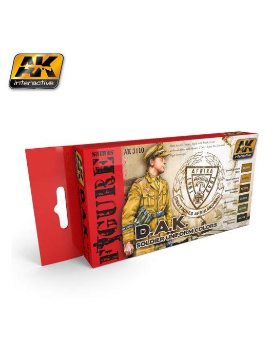 AK Interactive - D.A.K. Soldier Uniform Colors