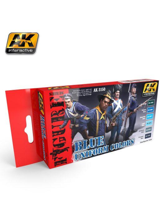 AK Interactive - Blue Uniform Colors