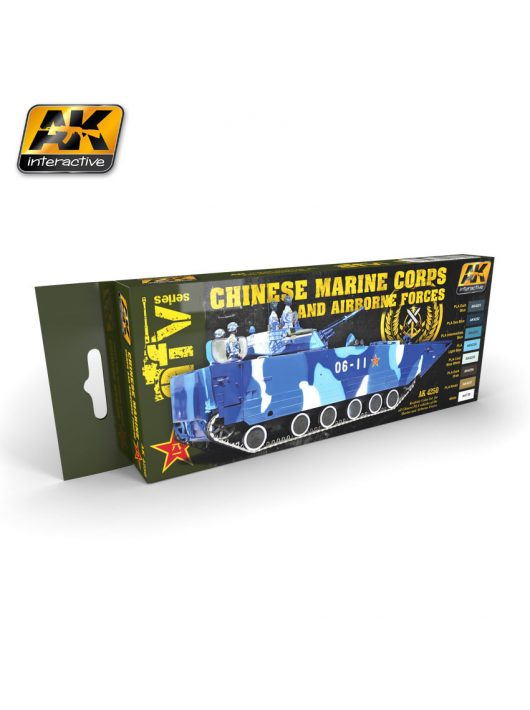 AK Interactive - Chinese Marine Corps And Airbone Forces