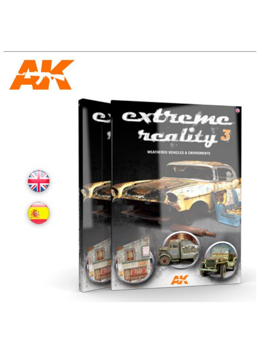 AK Interactive - Extreme Reality 3 - Weathered Vehicles And Environments - English
