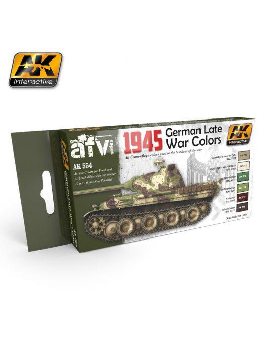 AK Interactive - 1945 German Late War Colors Set