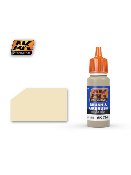 AK Interactive - Dry Light Mud 17 ml