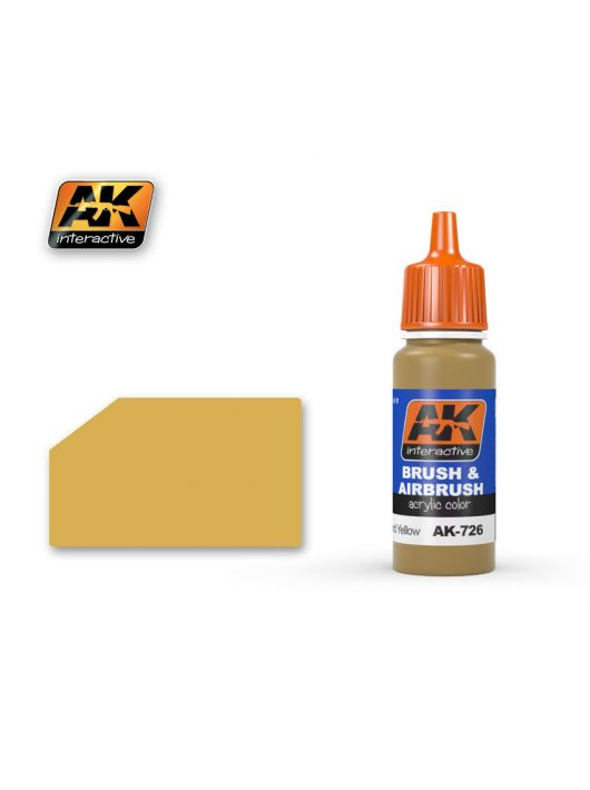 AK Interactive - British Sand Yellow 17 ml