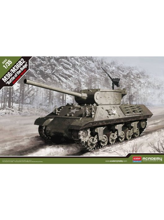 "1/35 M36/M36B2 US Army ""Battle of the Bulge"" Academy"