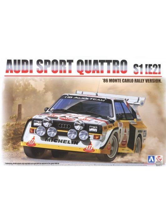 1/24 Audi Sport Quattro S1 [E2] 1986 Monte Carlo Rally Version