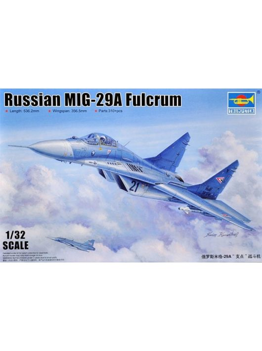 1/32 Russian MiG-29A Fulcrum Trumpeter