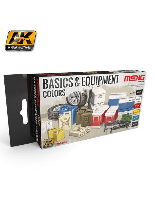AK Interactive - Basics & Equipment Colors
