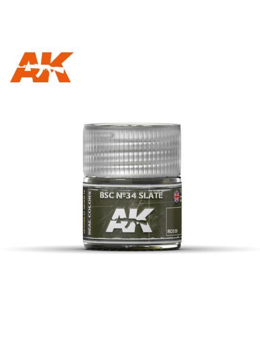 AK Interactive - Bsc Nº34 Slate 10Ml