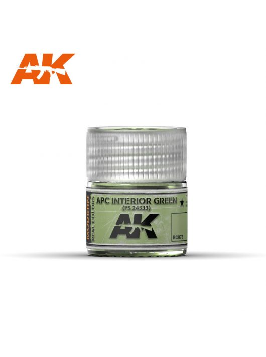 AK Interactive - Apc Interior Green Fs24533  10Ml