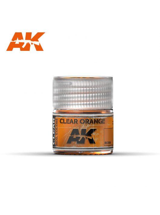 AK Interactive - Clear Orange 10Ml