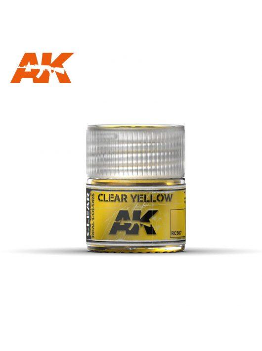 AK Interactive - Clear Yellow 10Ml