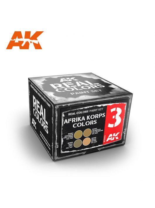 AK Interactive - Afrika Korps Colors Set