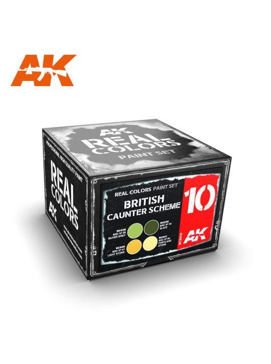 AK Interactive - British Counter Scheme Set